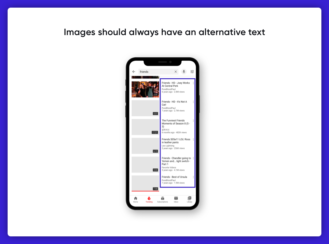 Imagery in UI Design-Alt Text