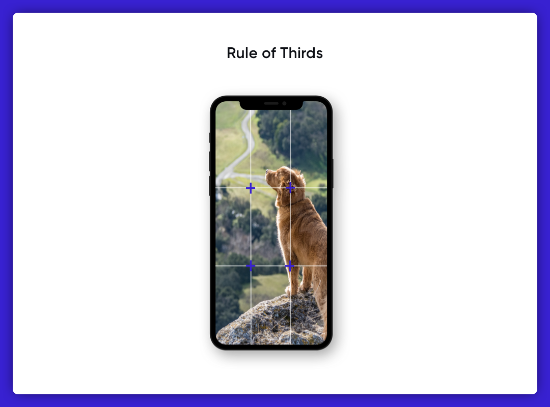 Imagery in UI Design-Rule of Thirds