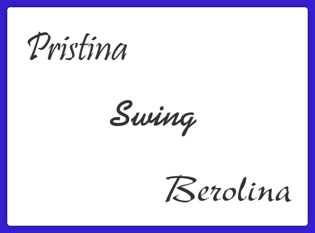 Casual Script Typeface