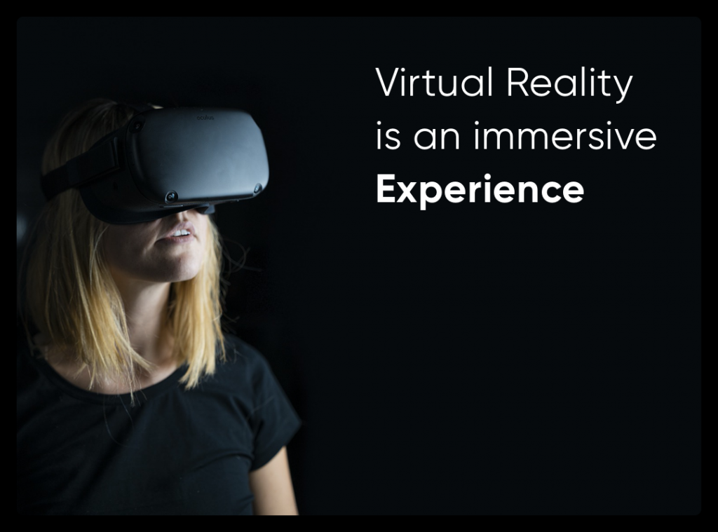 Virtual Reality is an Experience