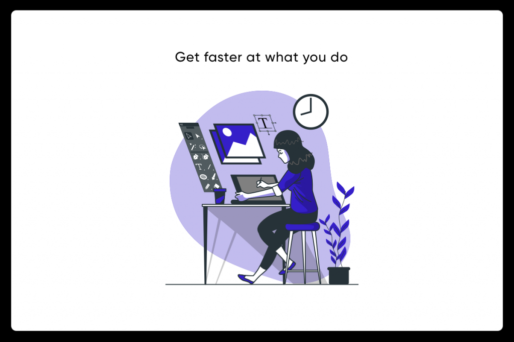designer learn to write- get work faster